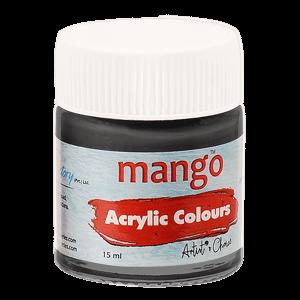 Mango Acrylic Colour - Black