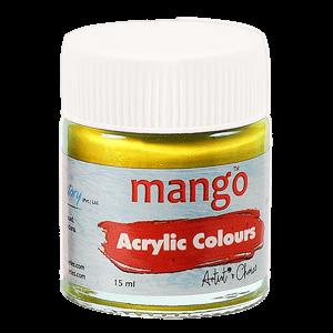 Mango Acrylic Colour - Golden Yellow