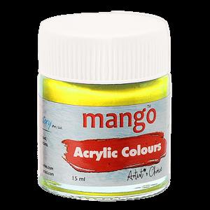 Mango Acrylic Colour - Lemon Yellow