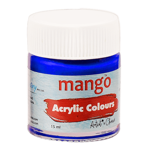 Mango Acrylic Colour - Ultramine Blue