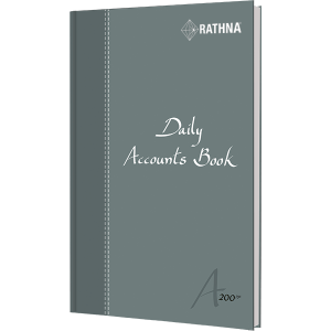 Rathna Daily Accounts Book A5 200P