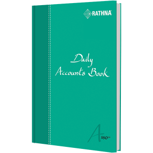 Rathna Daily Accounts Book A5 160P