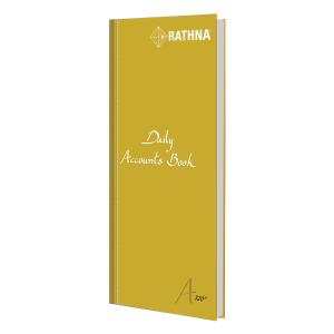 Rathna Daily Accounts Book A4 Long 320P