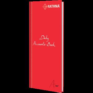 Rathna Daily Accounts Book A4 Long 160P