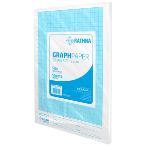 Rathna Graph Paper 1mm - 100 Sheets Pack