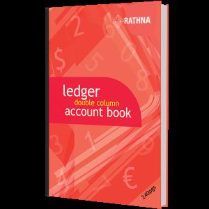 Rathna Ledger Double Column Accounts Book 240p