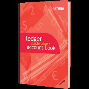 Rathna Ledger Double Column Accounts Book 160p