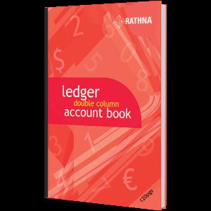 Rathna Ledger Double Column Accounts Book 120P