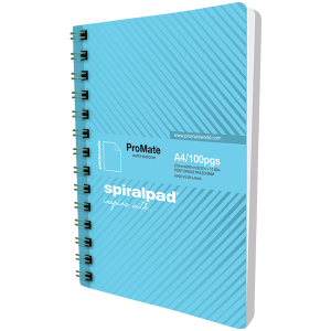 ProMate A4 Flip-on Spiral Pad 100Pgs