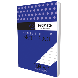 ProMate A6 Notebook 160Pgs