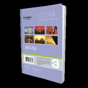ProMate CR 120Pgs Clear Book