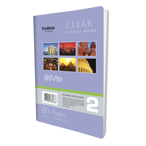 ProMate CR 80Pgs Clear Book