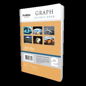 ProMate CR 80Pgs Graph Book