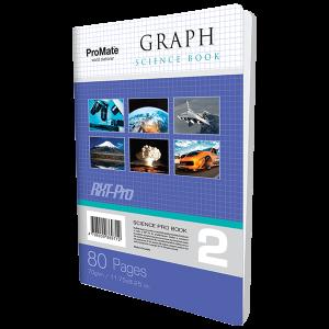 ProMate CR Graph Book 80Pgs