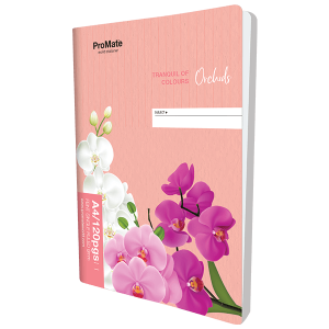 ProMate CR Book Single Ruled 120Pgs