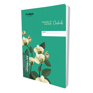 ProMate CR 160Pgs Single Ruled Book
