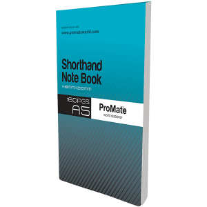 ProMate A5 Shorthand Notebook 160Pgs
