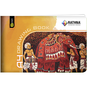 Rathna A4 Drawing Book 40Pgs