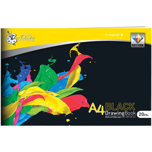Rathna A4 Black Drawing Book 20Pgs