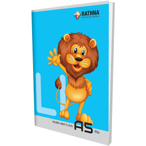 Rathna EX Double Ruled Half Inch Book 80Pgs