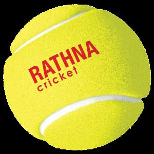 Rathna Cricket Tennis Balls - 4 Balls Pack