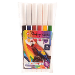 Mango Water Coloring Pen 6 Colour Pack