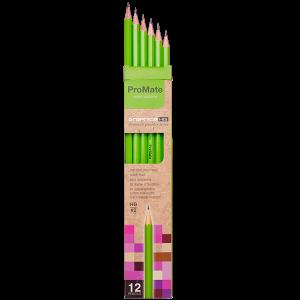 ProMate HB Pencils - 12 Pencils Pack