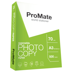 ProMate Photocopy Paper 70GSM A3 500 Sheets Pack