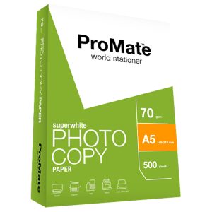 ProMate Photocopy Paper 70GSM A5 500 Sheets Pack