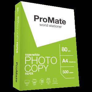 ProMate Photocopy Paper 80gsm (A4 Bundle) 500 sheets