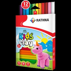 Kidz Clay 12-Colour 200G Pack
