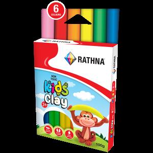 Kidz Clay Sticks 6-Colour 100G Pack