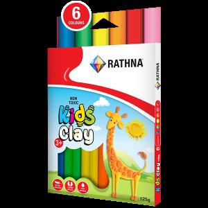 Kidz Clay Sticks 6-Colour 125G Pack